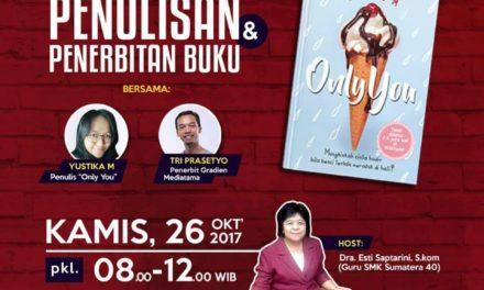 Talkshow Penulisan dan Penerbitan Buku | Tri Presetyo