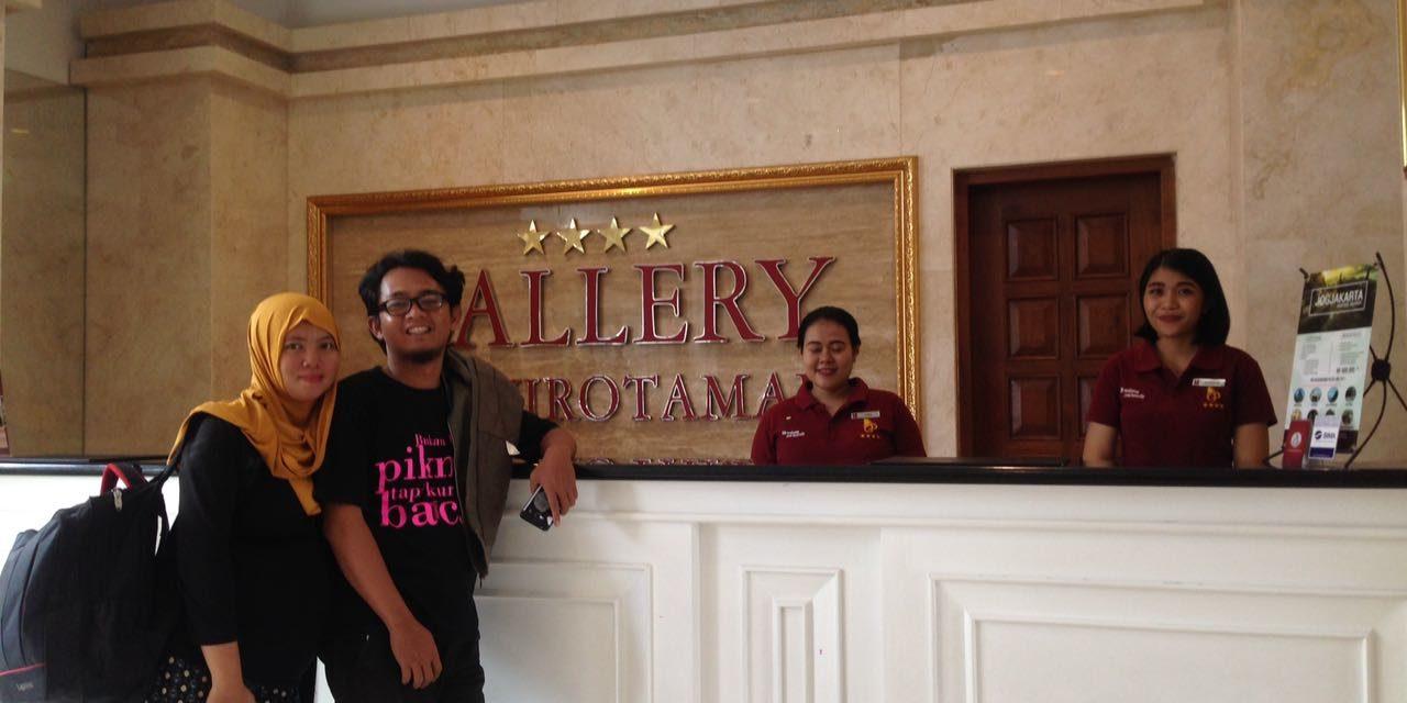 Rapat Evaluasi Menikmati Gallery Prawirotaman Hotel