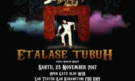 "Sangkala Suguhkan ""Etalase Tubuh"" | Teater Sangkala (Yogyakarta)"