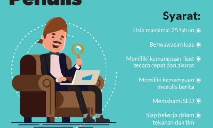Rekrutmen Penulis Tirto.id