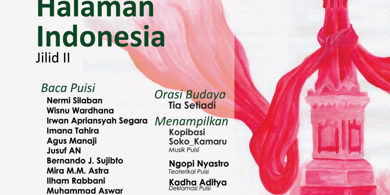 Bincang-bincang Sastra edisi 147 | Pesta Puisi Akhir Tahun: Yogya Halaman Indonesia