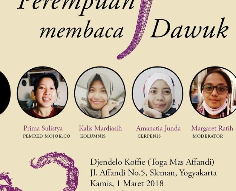 Perempuan Membaca Dawuk | Djendelo Koffie,Togamas Affandi | Yogyakarta
