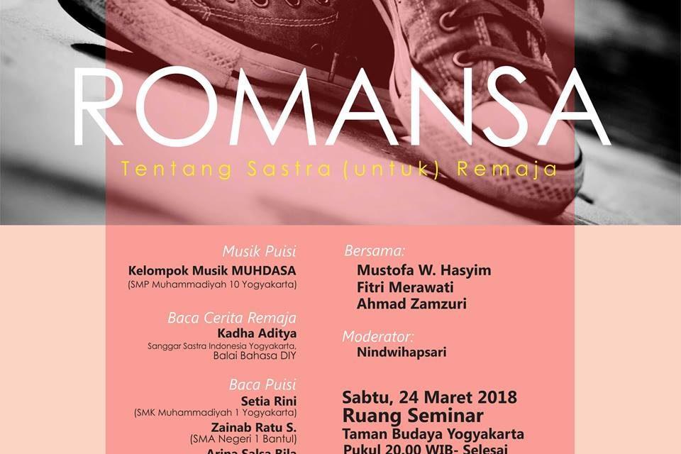 Bincang-Bincang Sastra Edisi 150 | Romansa Sastra Remaja | SPS Yogyakarta