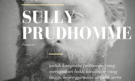 Pemenang Nobel Sastra 1901 | Sully Prudhomme