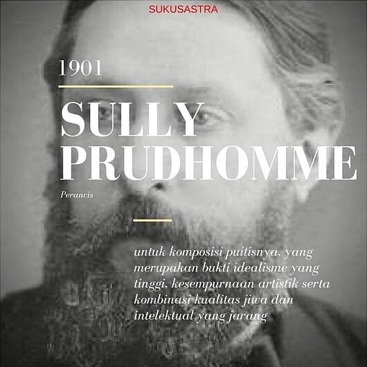 Pemenang Nobel Sastra 1901   Sully Prudhomme