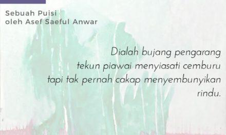 Sajak-Sajak Asef Saiful Anwar