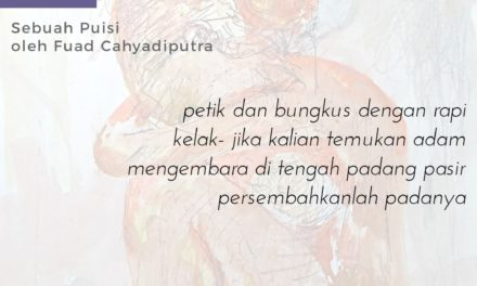 Sajak-Sajak Fuad Cahyadiputra
