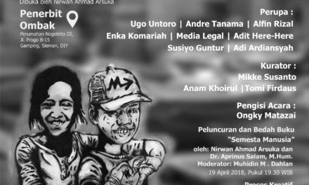 "Pameran Rupa Pustaka  ""Dialaog Dua Anak Haram"" | Penerbit Ombak, 19-29 April 2018"