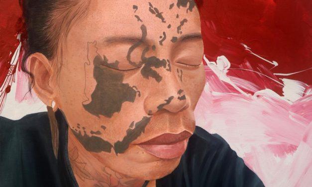 Lukisan Tato Wajah Sebagai Kerja Dokumentasi |Huhum Hambilly