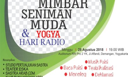 Mimbar Seniman Muda Yogya dan Hari Radio 2018
