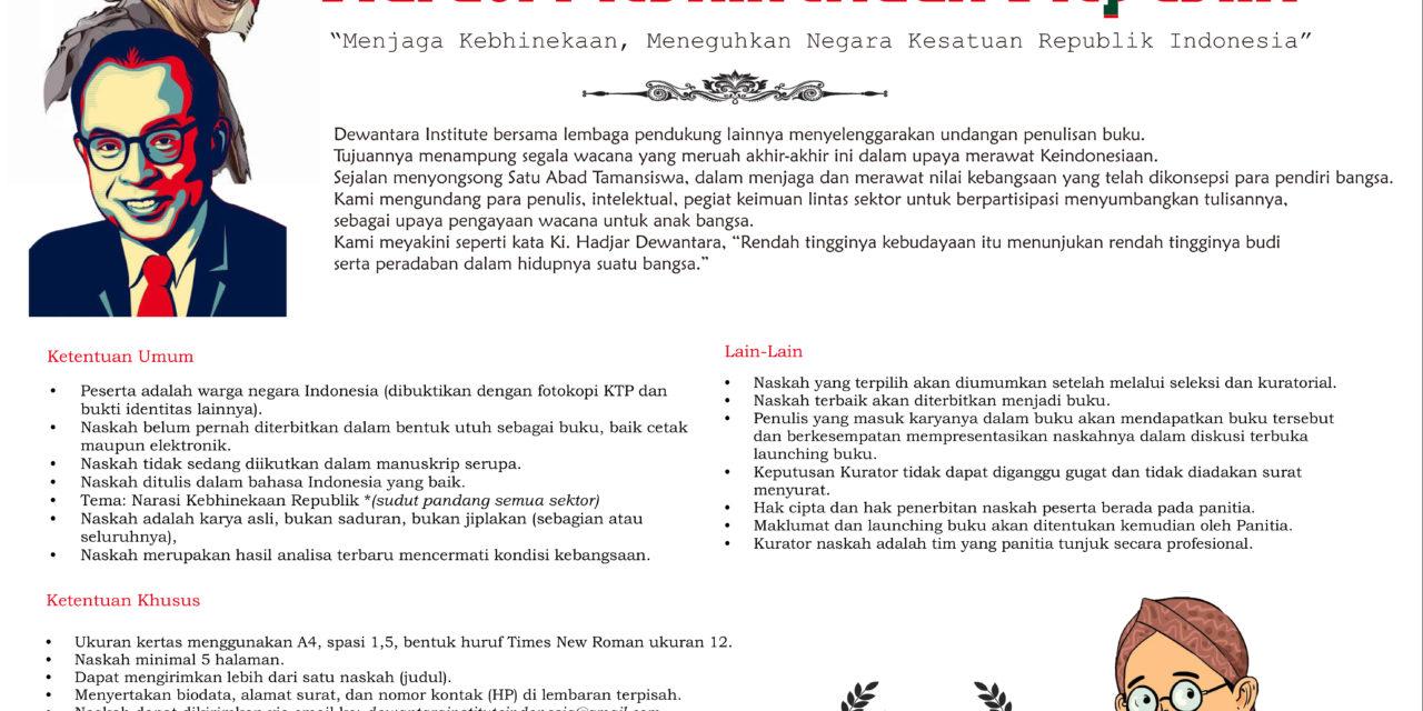 """Narasi Kebhinekaan Republik  """"Menjaga Kebhinekaan, Meneguhkan Kesatuan Republik Indonesia"""""""