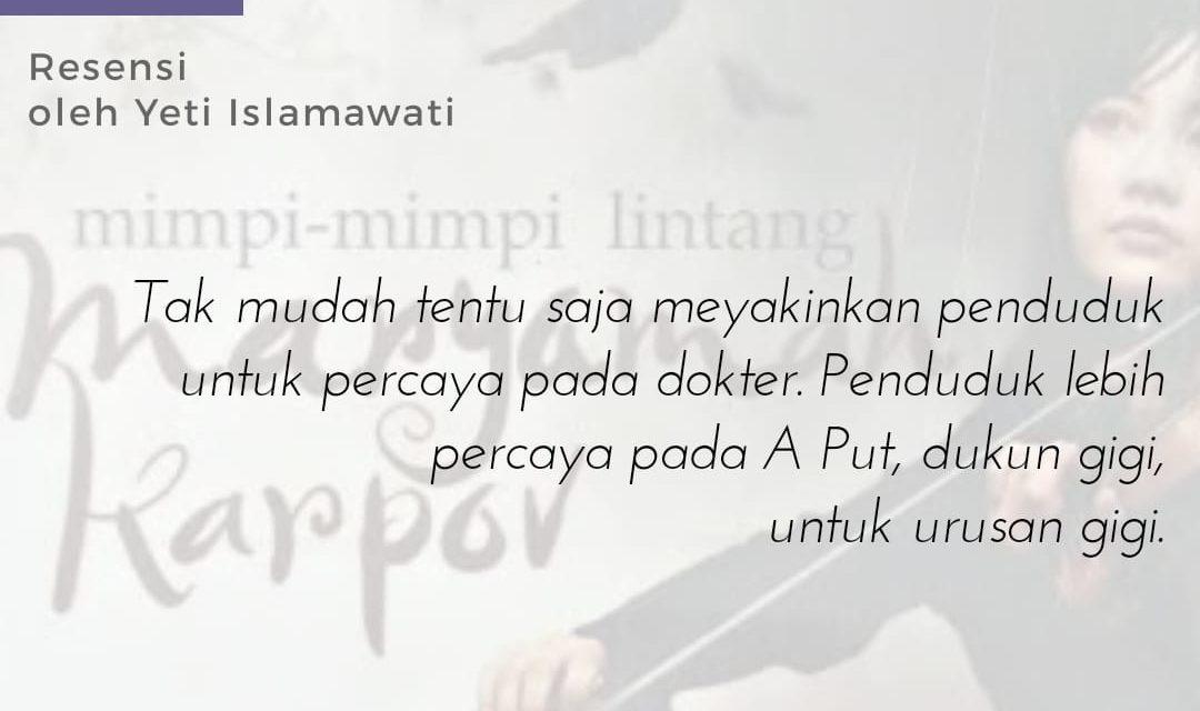 Potret Kebiasaan Masyarakat Melayu dalam Novel   Yeti Islamawati