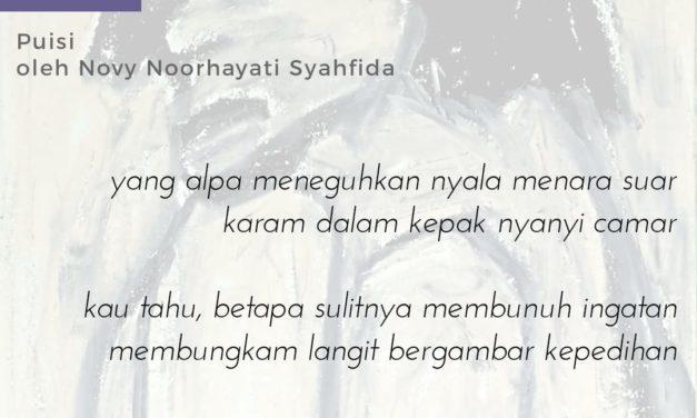 Dada yang Patah   Puisi-Puisi Novy Noorhayati Syahfida