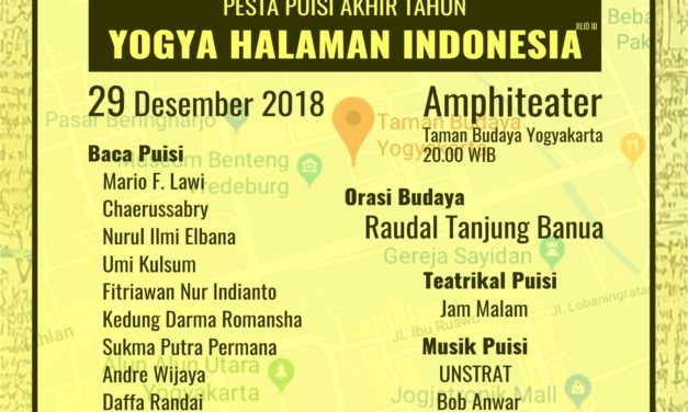 Bincang-Bincang Sastra edisi 159 | Pesta Puisi Akhir Tahun: Yogya Halaman Indonesia Jilid III