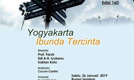 Bincang-Bincang Sastra Edisi 160 | Yogyakarta Ibunda Tercinta