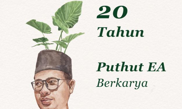 """20 Tahun Puthut EA Berkarya: Perayaan Rilis Buku """"Jalan Bercabang Dua di Hutan Kesunyian"""""""