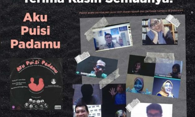 "Pembacaan Puisi Dosen-Dosen se-Indonesia ""Aku Puisi Padamu"" Berlangsung Sukses"