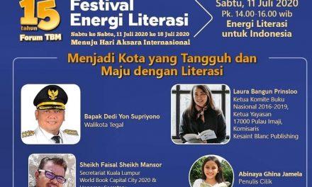 Webinar Menjadi Kota yang Tangguh dan Maju dengan Energi Literasi