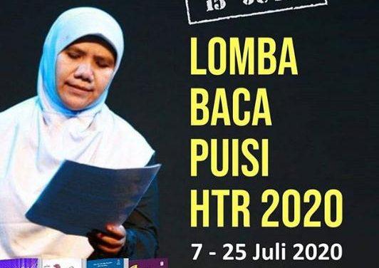 Peringati Hari Sastra dan Hari Puisi, Helvy Tiana Rosa Gelar Lomba Baca Puisi HTR 2020
