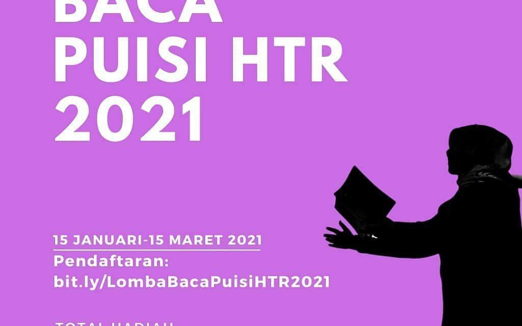 LOMBA BACA PUISI HTR TINGKAT NASIONAL 2021
